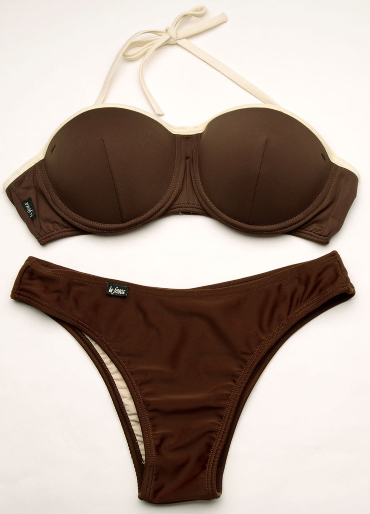 7967ec2313 La Fresca Junior Padded Convertible Underwire Bikini Set 15004 ...