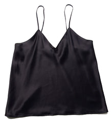 Shirley McCoy Silk Charmeuse Camisole SM100, Black, L