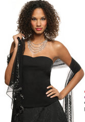 Vestiny Solution Strapless Camisole with Built-in Bra 1435