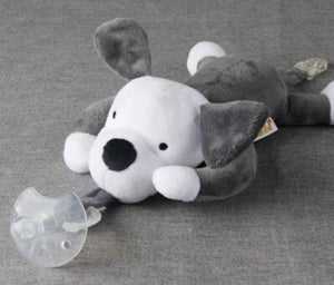 Animal Buddy Pacifier Clip