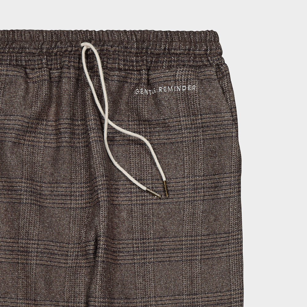 Wool short pants