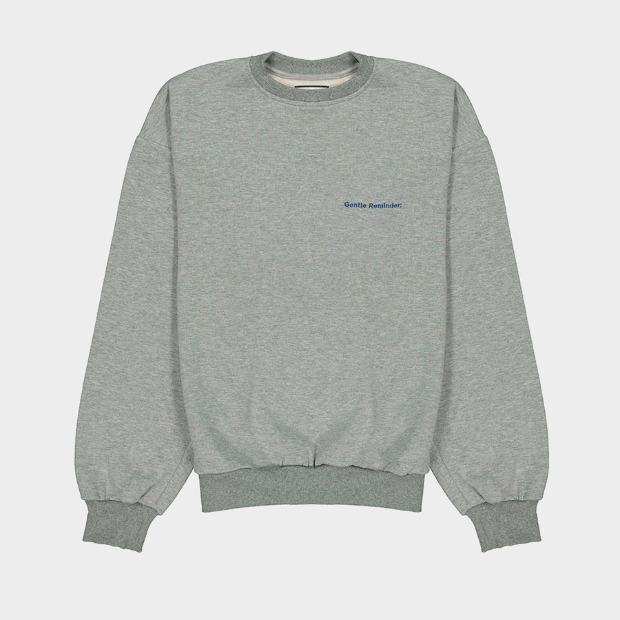 "Crewneck ""Deux points"""