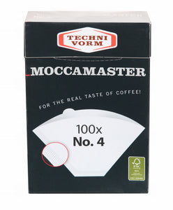 Moccamaster Coffee Filter white Nr. 4 (100 pieces)