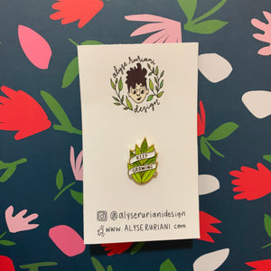 Keep Growing Enamel Pin