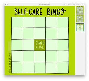 Self Care Bingo: Digital Download