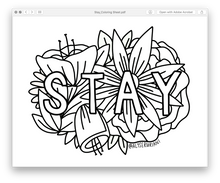 Load image into Gallery viewer, Coloring Sheets: Digital Download