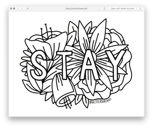 Coloring Sheet Downloads