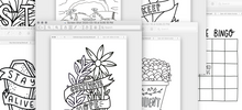 Load image into Gallery viewer, Coloring Sheet Downloads