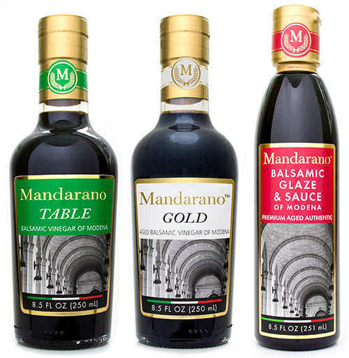 Mandarano Balsamic of Modena Premium Gift Set