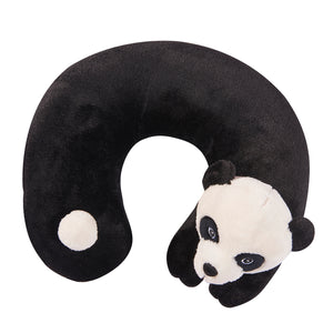 Cute Animals Memory Foam Travel Neck Pillow - Panda