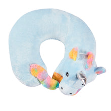 Load image into Gallery viewer, Cute Animals Memory Foam Travel Neck Pillow - Unicorn