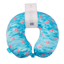 Load image into Gallery viewer, Coast Memory Foam Travel Neck Pillow - Flamingo