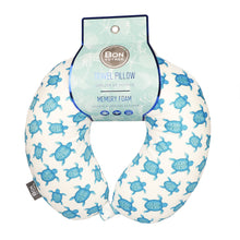 Load image into Gallery viewer, Coast Memory Foam Travel Neck Pillow - Turtles