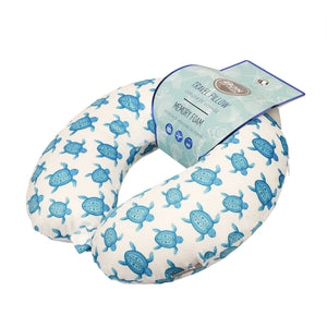 Coast Memory Foam Travel Neck Pillow - Turtles
