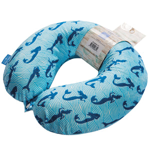 Coast Travel Pillow - Merimaid, Bon Voyage Memory Foam Cushion Neck Pillows Removable Washable Cover