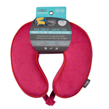 Load image into Gallery viewer, Premium Memory Foam Travel Neck Pillow - Red