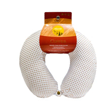 Load image into Gallery viewer, Copper Memory Foam Travel Neck Pillow