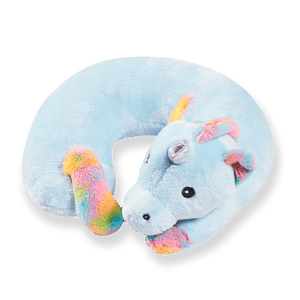 Cute Animals Memory Foam Travel Neck Pillow - Unicorn