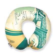 Load image into Gallery viewer, World Edition Memory Foam Travel Neck Pillow - Paris