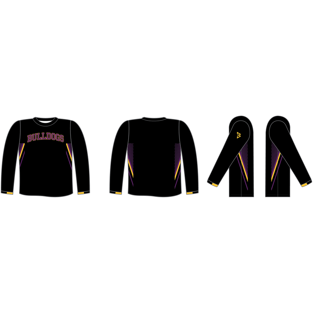 Bulldogs Long Sleeve Training Shirt