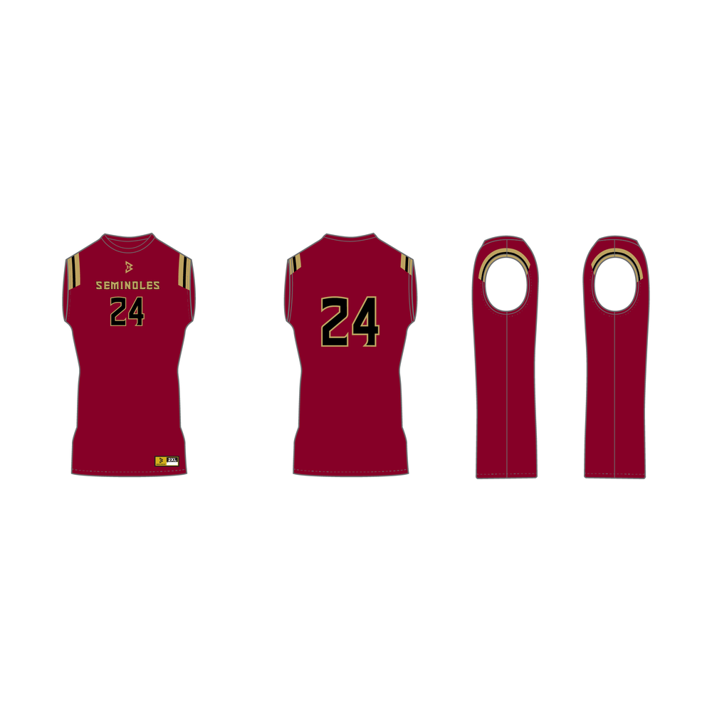 Seminoles Sleeveless Compression Shirt