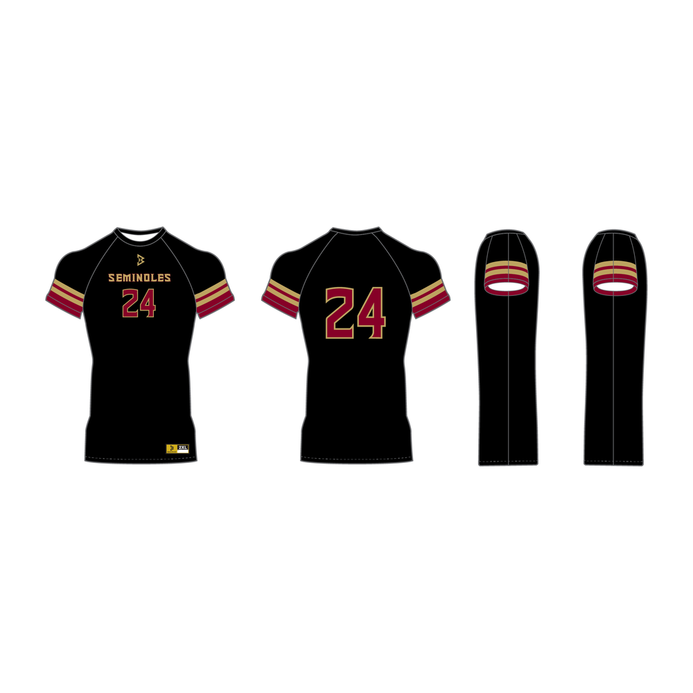 Seminoles Short Sleeve Compression Shirt