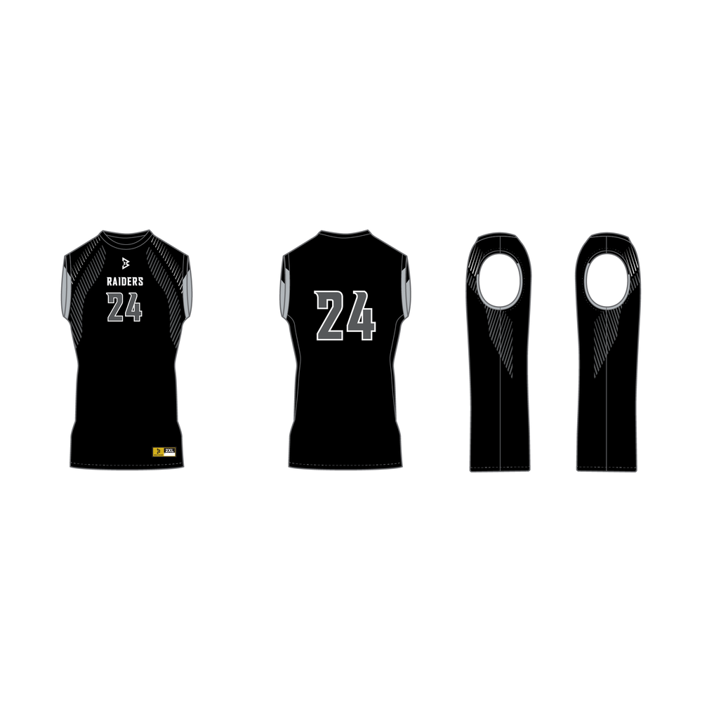 Raiders Sleeveless Compression Shirt
