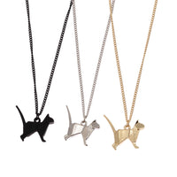 Geometry Origami Cat Necklace - A Cat About Town