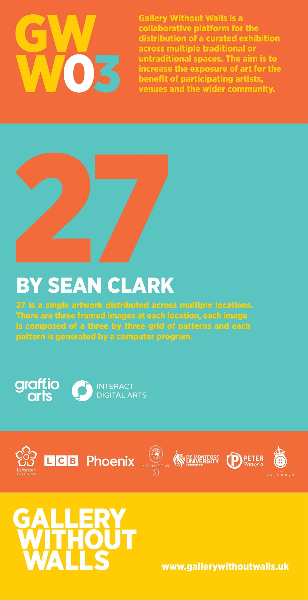 Gallery without walls 03 - Sean Clark - peter pizza""