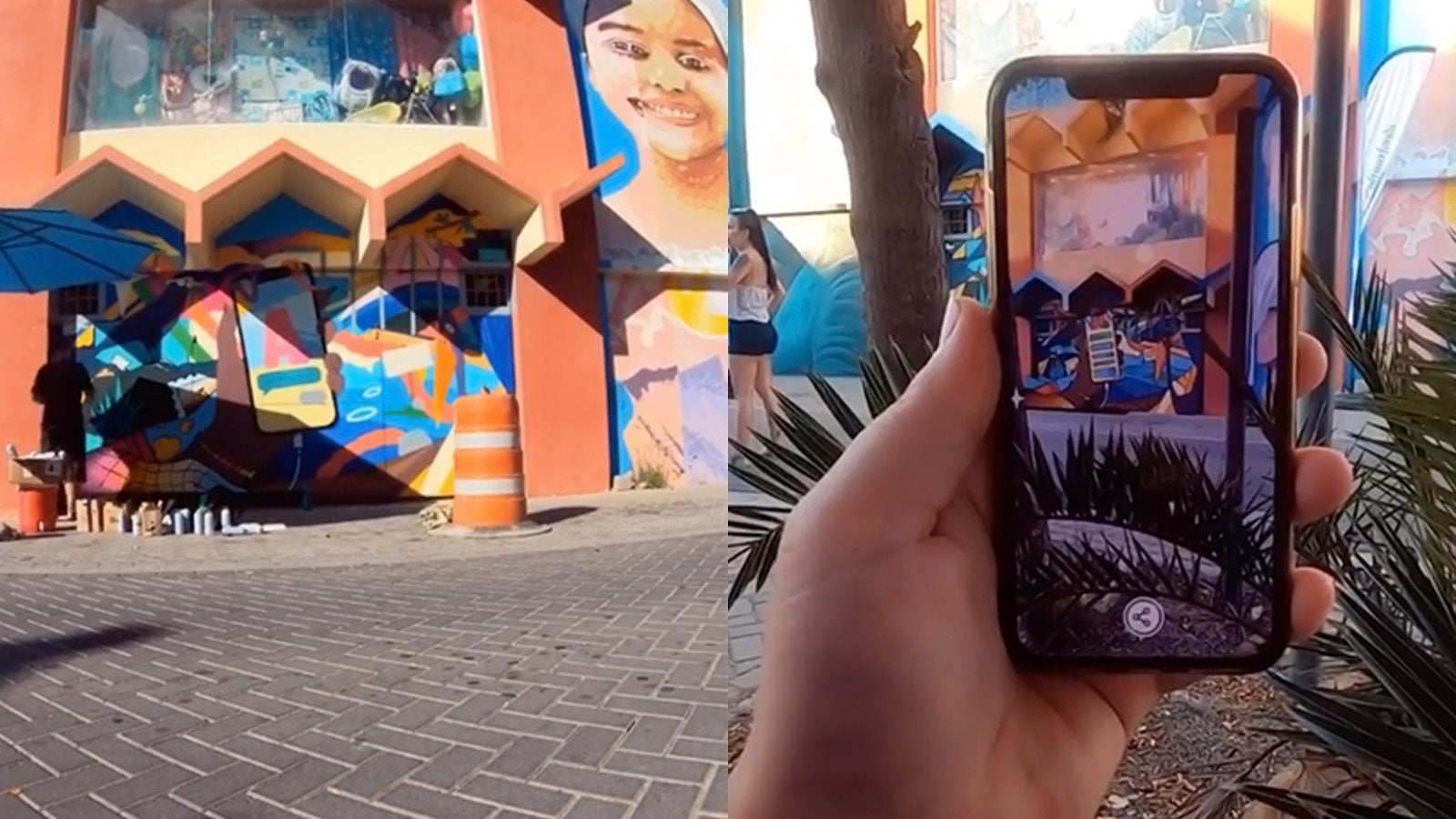 Aruba - live art print at Aruba - Augmented reality