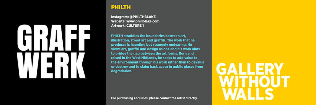 PHILTH Graffiti Artist profile for Graff.io Arts