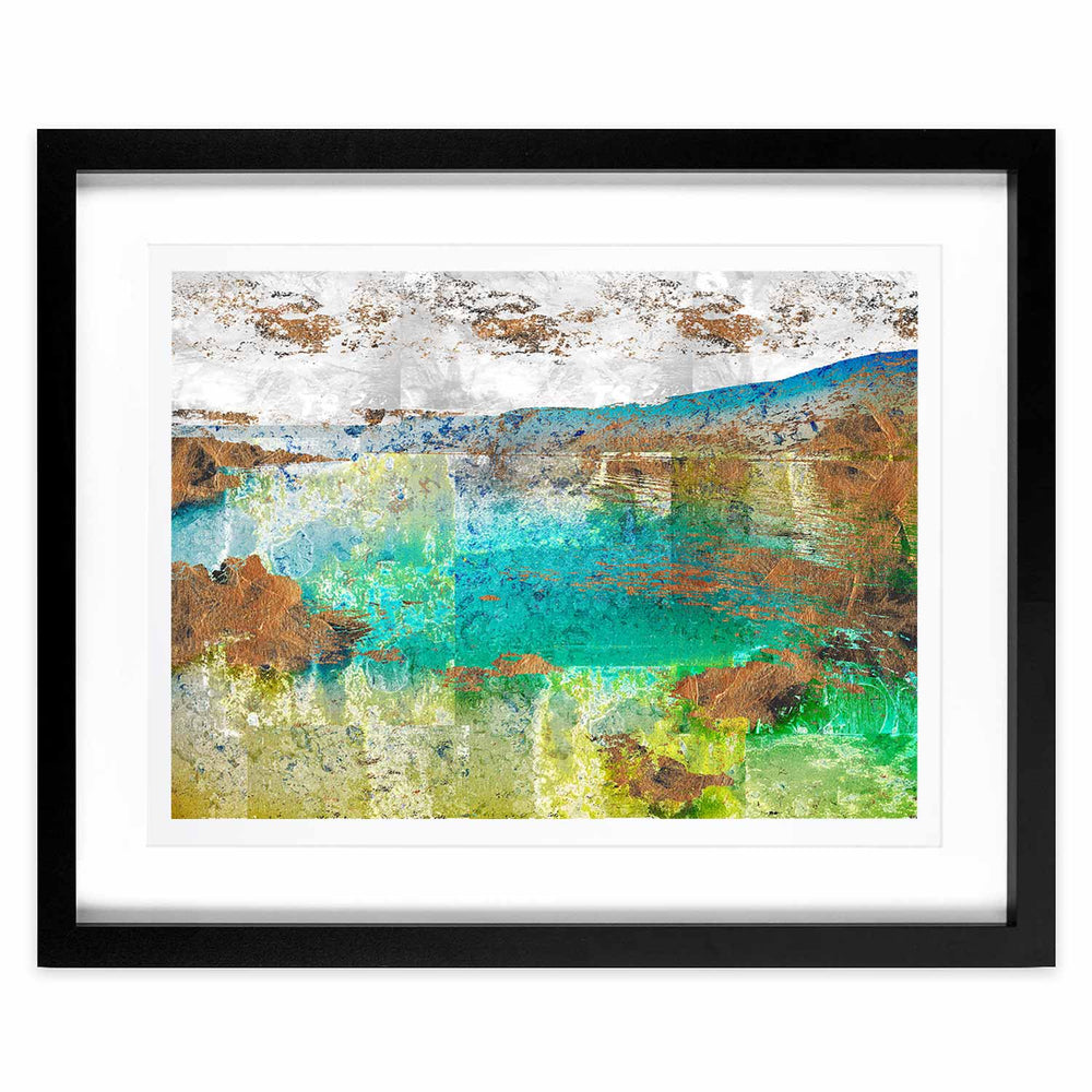 Rain – Distorted Horizons - Digital Art Print