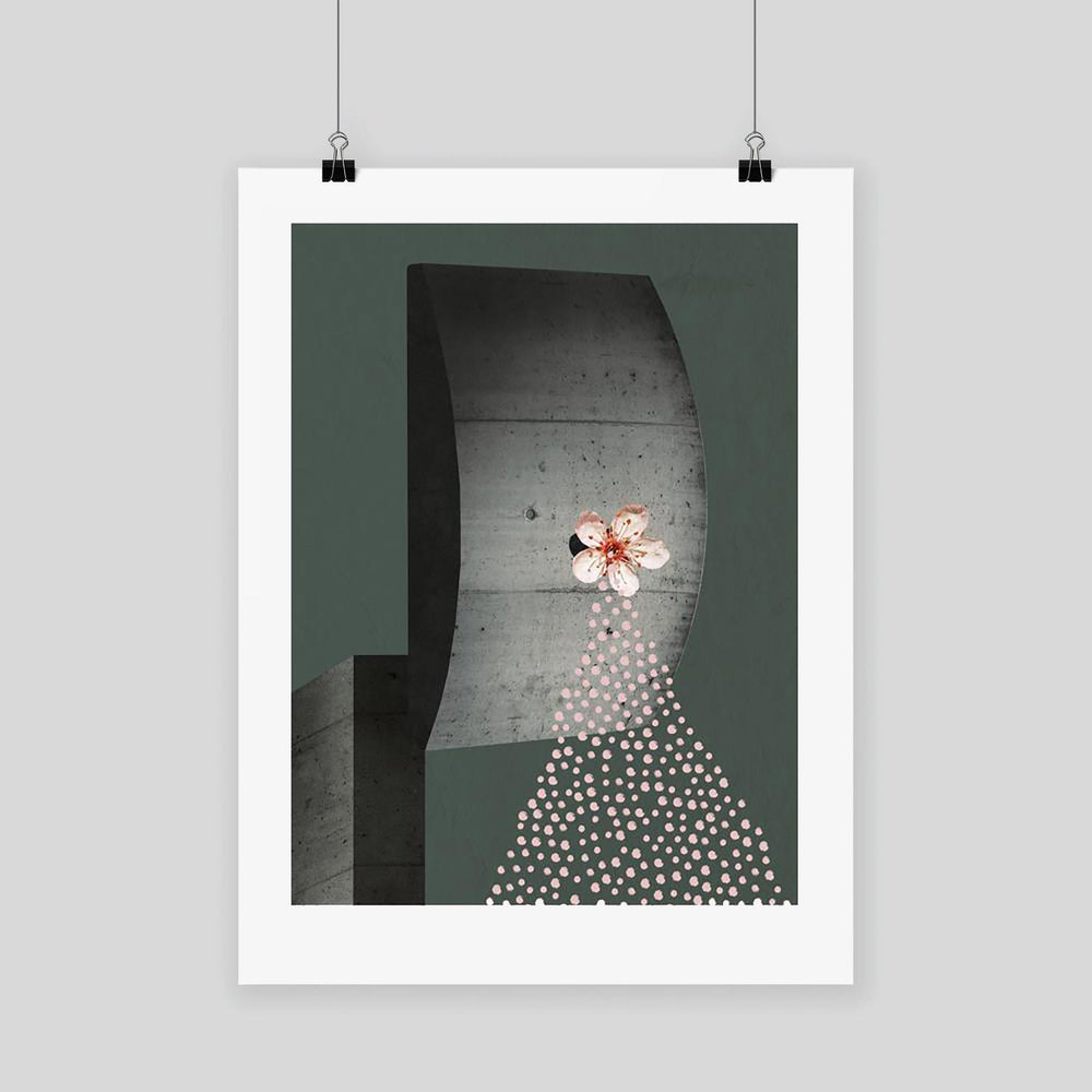The Letter R Once - Graphic Art Print