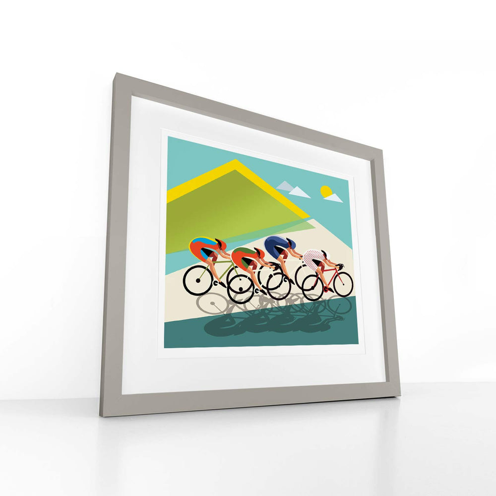 Little Crew – Cyclo - Digital Art Print