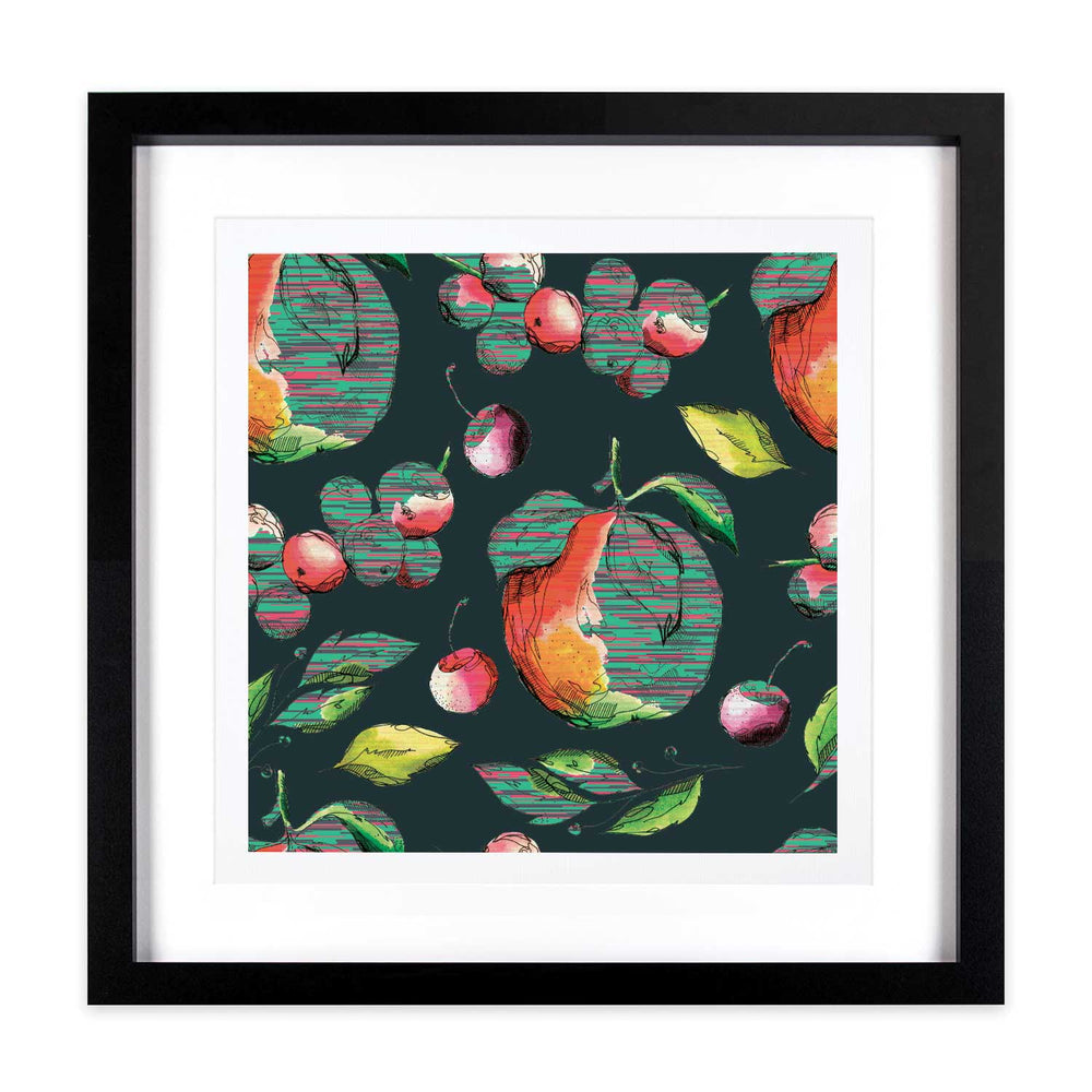 Fruits of Love – Pixel Pollen - Digital Art Print