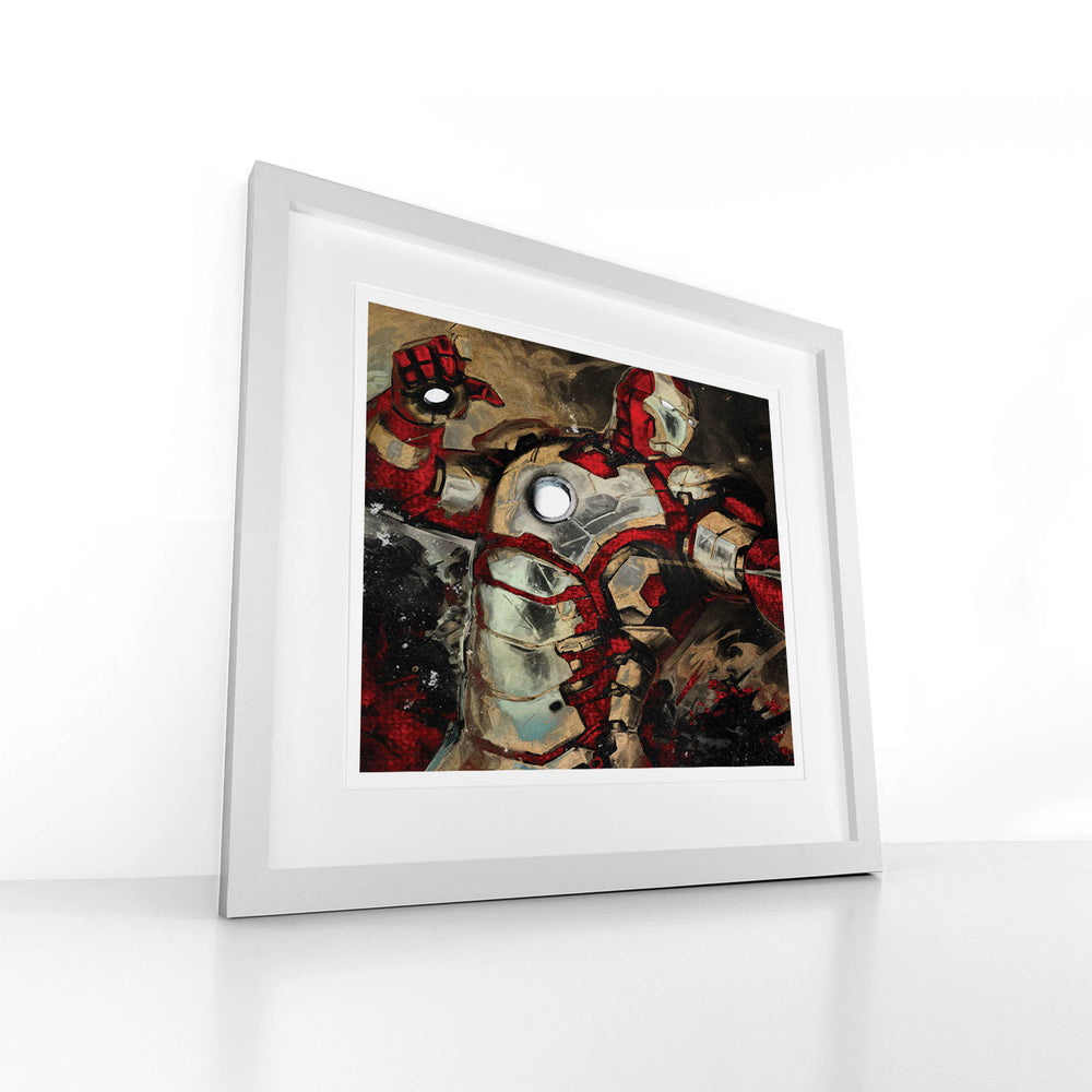 Atomize – Heroes and Villains - Digital Art Print