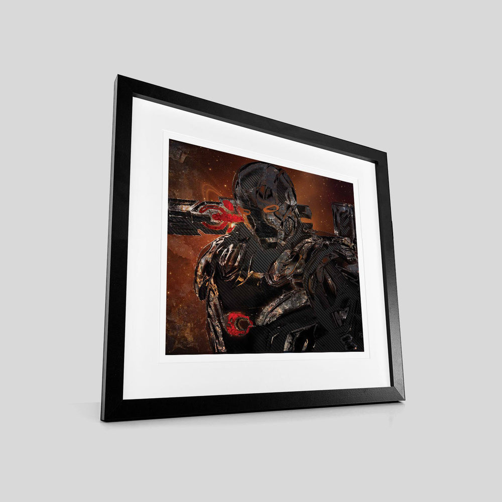 Metal Soldier – Heroes and Villains - Digital Art Print