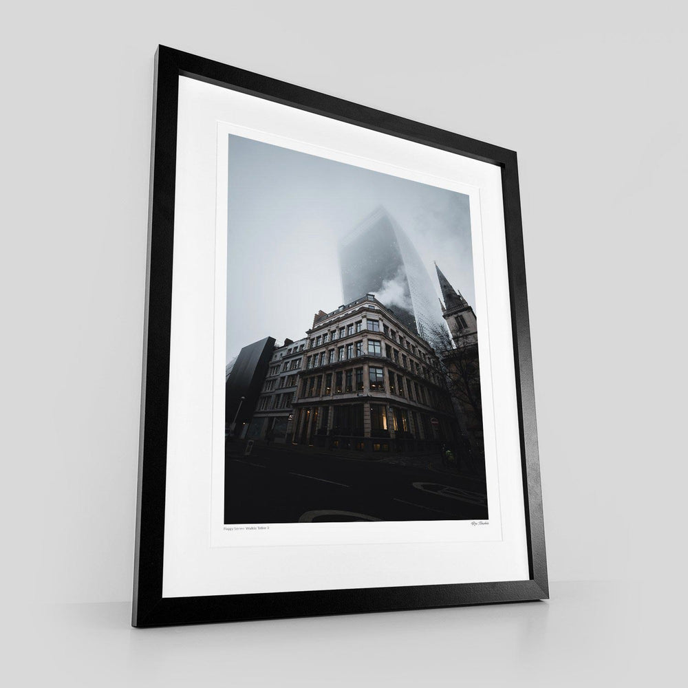 Foggy Series: Walkie Talkie 2 by Ron Timehin