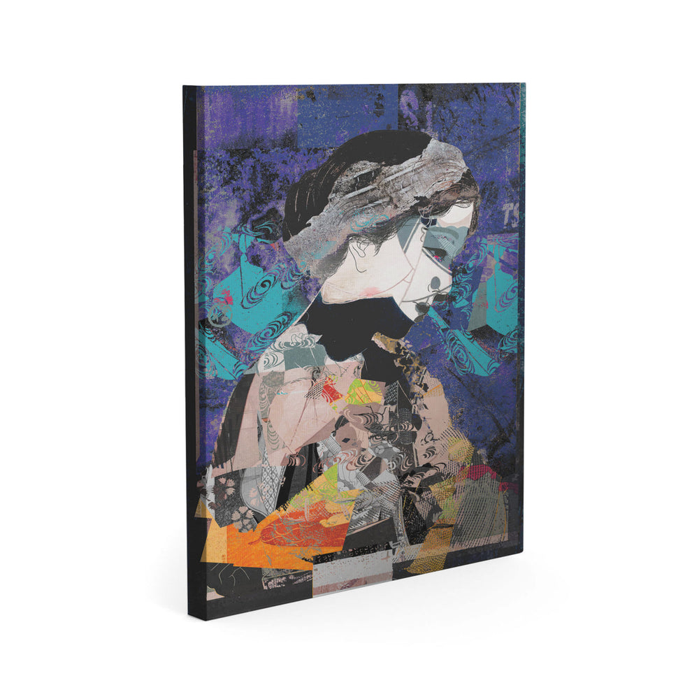 Harumi Dreaming - Thinking Geisha - Canvas Art Print