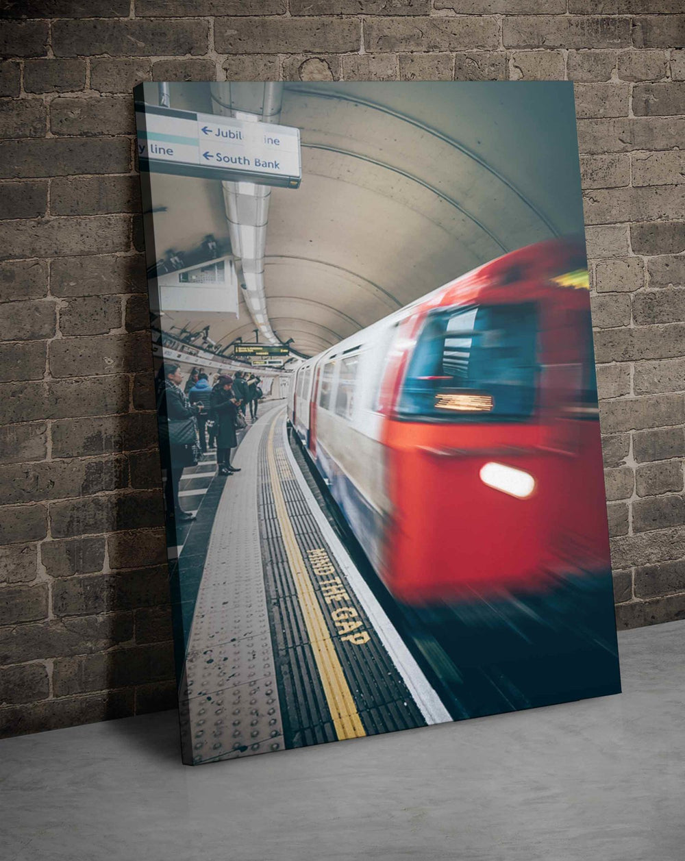 London Dec 17th Canvas Print - Dave Burt