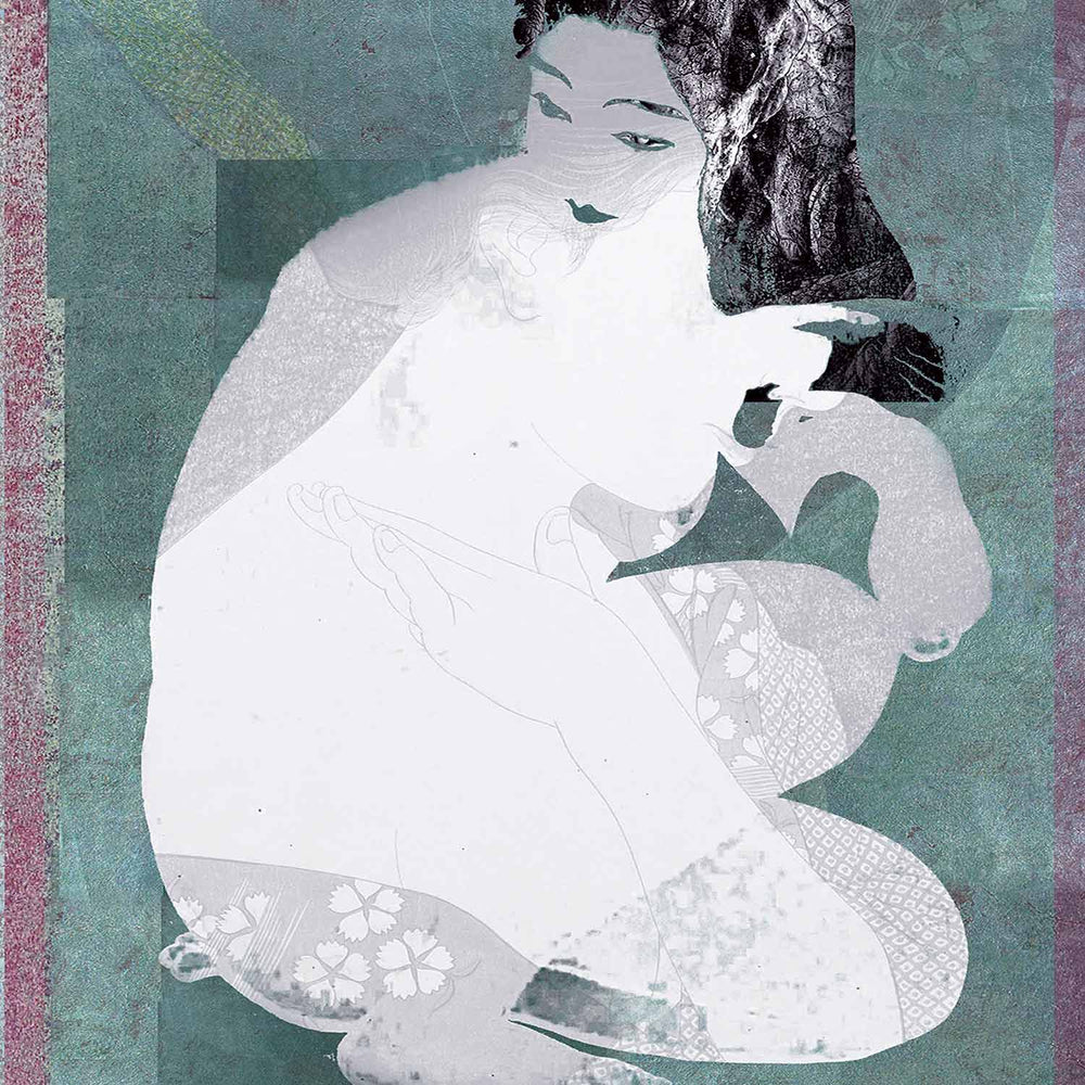 Kayo. A Feeling Geisha Graphic Art Print