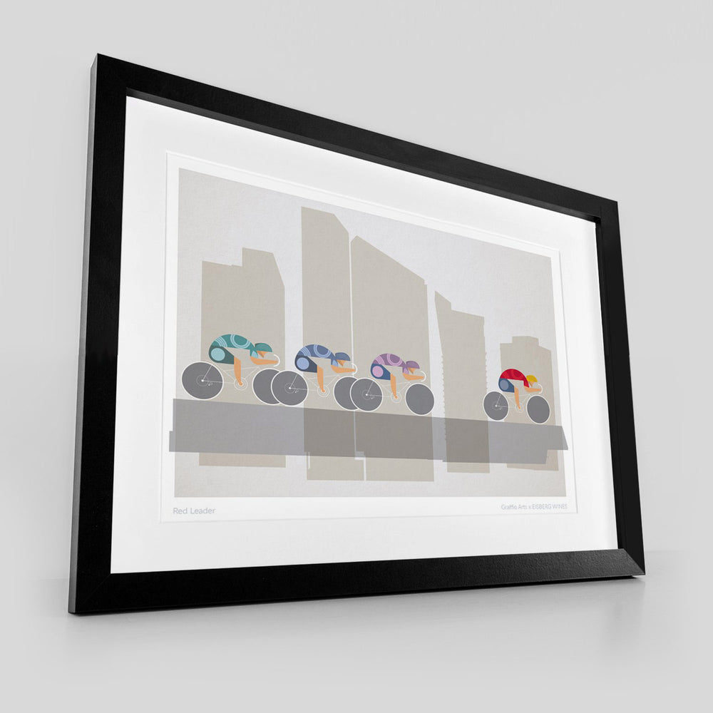The Tour of Britain: Red Leader (LARGE AR PRINT)