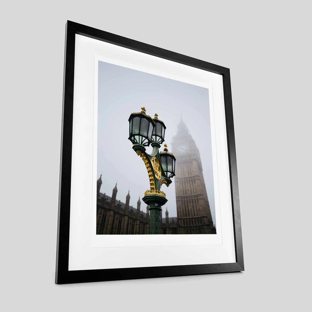Ron Timehin - Big Ben and Lamp Print