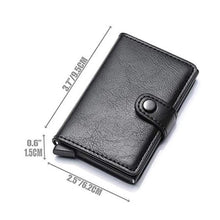 Load image into Gallery viewer, Best RFID Blocking Wallet-Slim Credit Card Protection Wallet Purse
