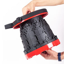 Load image into Gallery viewer, INCREDIBLE FOLDING (RETRACTABLE) COLLAPSIBLE CAMPING STOOL