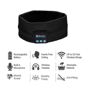 SleepIn® Wireless Bluetooth Headband Headphones