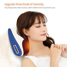 Load image into Gallery viewer, Award Winning Shiatsu Massage Pillow With Heat Back And Neck Massager