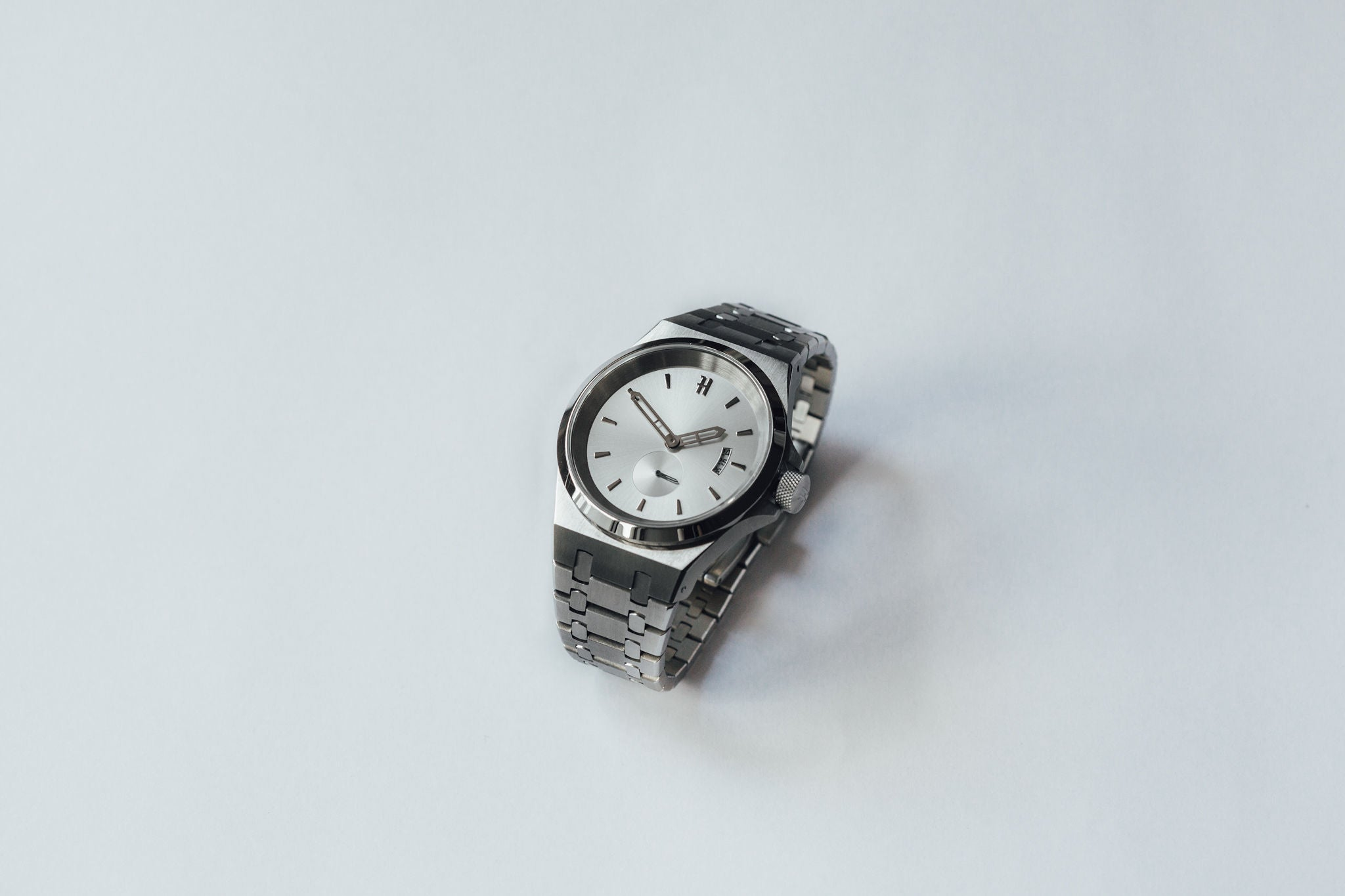 THE ACE - SILVER MENS WATCH