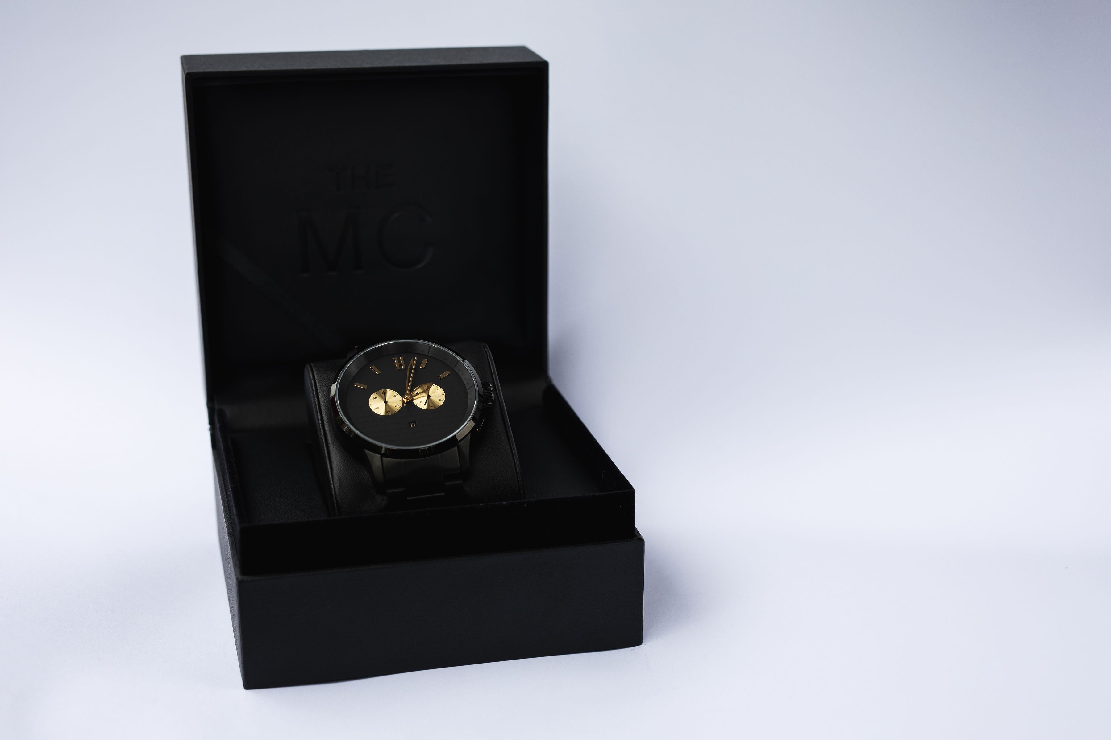 THE MC - BLACK/GOLD MENS WATCH