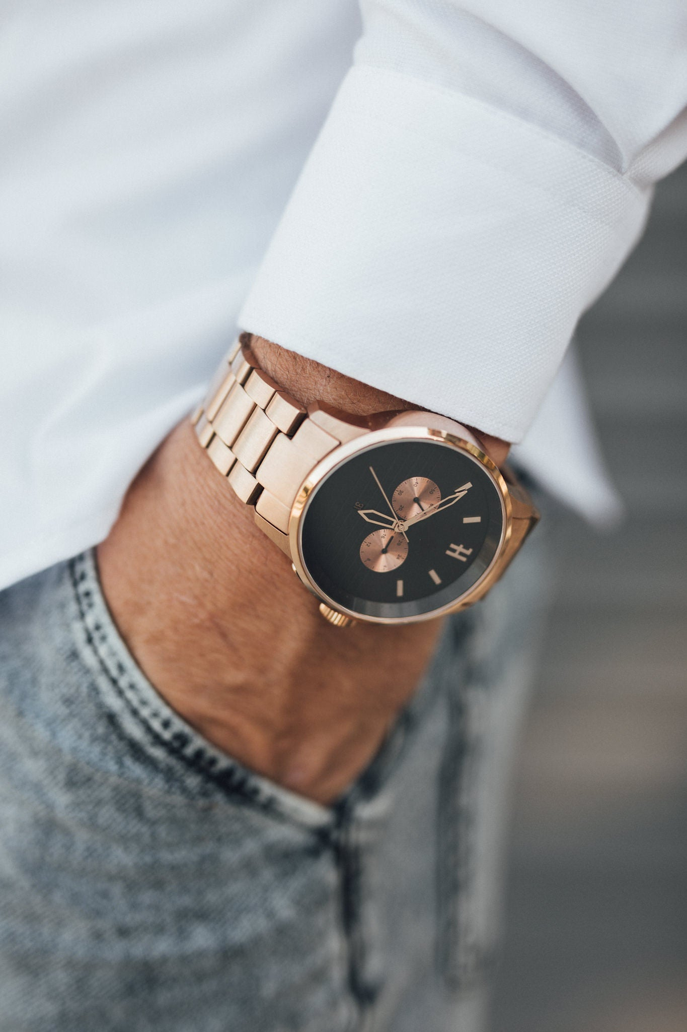 THE MC - ROSE GOLD MENS WATCH